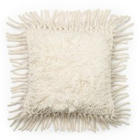 Loloi Fringe Pillow - Ivory