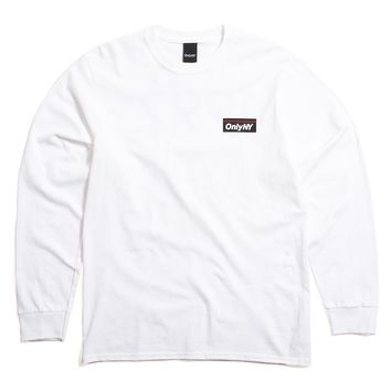 Subway Longsleeve T-Shirt White