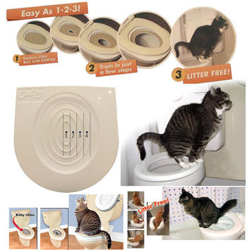 Cat Toilet Training Kit & Behavior Aids