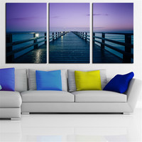 NO FRAME 3pcs Marcus Pink Printed Oil Painting On Canvas wall Painting for Home Decor Wall picture