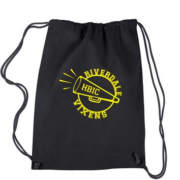 Riverdale Vixens Cheerleading Drawstring Backpack