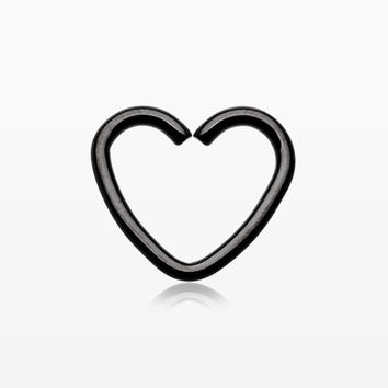 Colorline Heart Loop Cartilage Tragus Earring