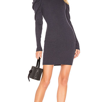 L'Academie Farrah Sweater Dress in Dark Blue | REVOLVE