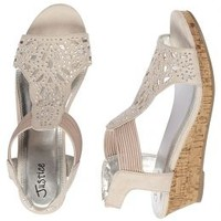 Cut Out Wedge Sandals | Girls Sandals Shoes | Shop Justice