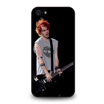 michael clifford 5sos five seconds of summer iphone 5 5s se case cover  number 1