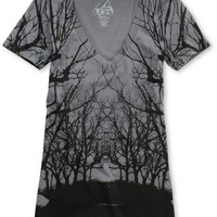 Lira Roots Charcoal V-Neck Tee Shirt at Zumiez : PDP