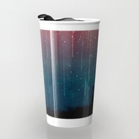 Meteor rain Travel Mug by Picomodi