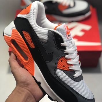Wmns Nike Air Max 90 Essential cheap Men s and women s nike shoe abf40a976