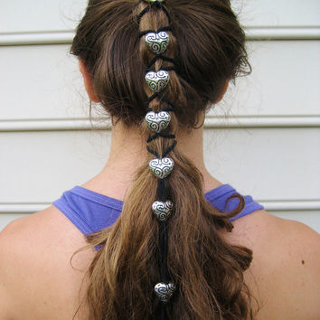 Stunning Silver Hair Wrap