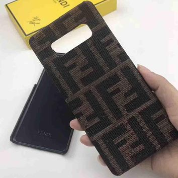 Perfect Fendi Phone Cover Case For Samsung Galaxy s8 s8 Plus S9 S9 Puls note 8 note 9 iphone 6 6s 6plus 6s-plus 7 7plus 8 8plus iPhone X XS XS max XR