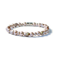 Pearl Twists Magnetic Therapy Bracelet