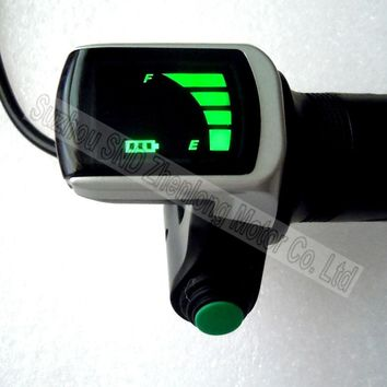 Twist throttle with battery indicator and power on/off button for electric scooter 48V voltage  G-L188