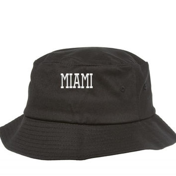MIAMI EMBROIDERY Bucket Hat