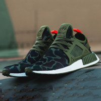 """""""Adidas"""" NMD XR1 Duck Camo Women Men Running Sport Casual Shoes Sneakers Camouflage Green G"""
