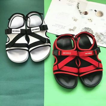 """New Balance"" Men Summer Casual Fashion Multicolor Beach Sandals Flats Shoes"