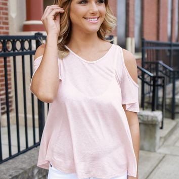 Out for Fun Top - Blush