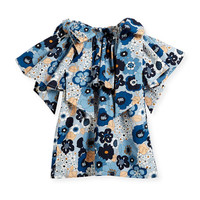 Chloe Mini Me Floral Bow-Shoulder Dress, Sizes 4-5 and Matching Items