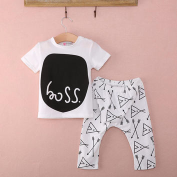 Newborn Sport Suits Baby Infant-clothing