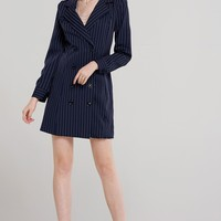 Cynthia Pin Stripe Jacket Dress Discover the latest fashion trends online at storets.com