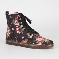 Dr. Martens Shoreditch Womens Boots Victorian Flowers  In Sizes