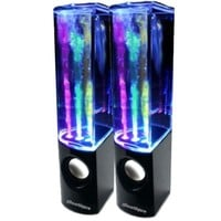 iBoutique ColourJets USB Dancing Water Speakers for PC/Mac/MP3 Players/Mobile Phones/Tablets - Jet Black:Amazon.co.uk:Computers & Accessories