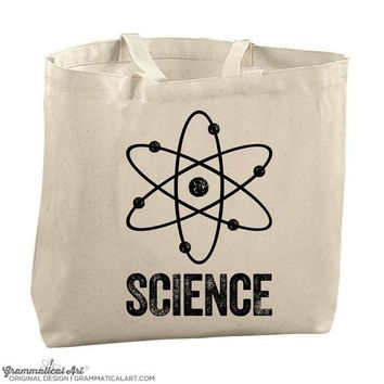 Science Tote Bags for Teachers Science Teacher Gifts for Her Lab Tech Gifts Nursing Gifts Med School Gifts Graduation Gifts PhD Science Gift