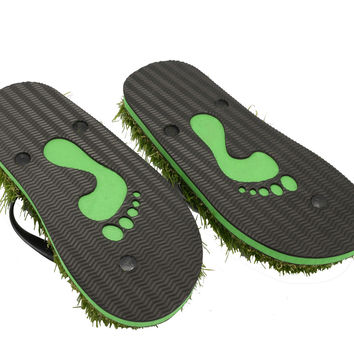 Trendy Eva Summer Slippers with Grass size 38-42 [5013011012]