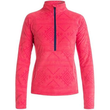 VONEW3J Roxy Cascade Half-Zip Fleece