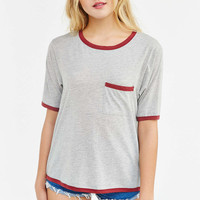Project Social T Dylan Contrast Tee - Urban Outfitters