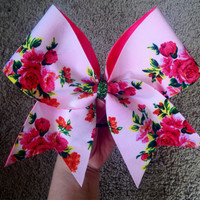 Flower Power Cheer Bow