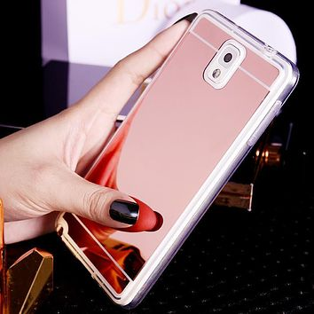 Mirror Finish Phone Case for Samsung Galaxy S Phones