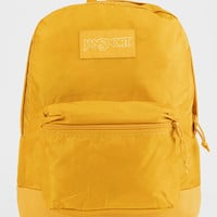 JANSPORT Mono SuperBreak English Mustard Yellow Backpack