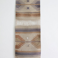 Vintage Native American Woven Textile | Navajo Tapestry | Wall Hanging