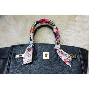 GUCCI Women Fashion Flower Scarf Shawl Silk Scarf