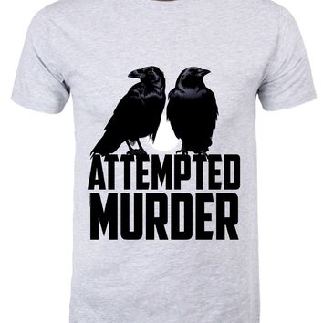 Attempted Murder Men's Grey T-Shirt