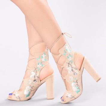 Sprung For You Heel - Natural
