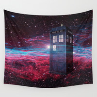 Dr Who police box  Wall Tapestry by Store2u