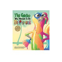 """""""The Gecko Who Wanted To Be Different"""" Children's Book (Hard cover)"""