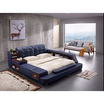 Side Slide  Storage Bed For Room Furniture