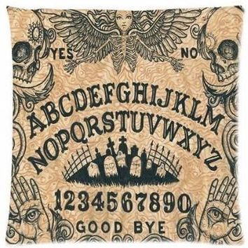 Ouija Board Throw Pillow Cover