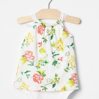 Floral tank body double