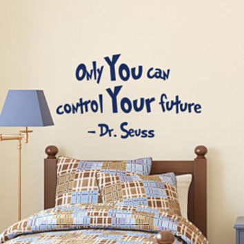 Dr Seuss Nursery Wall Decal Oh The Places You Ll Go Quote