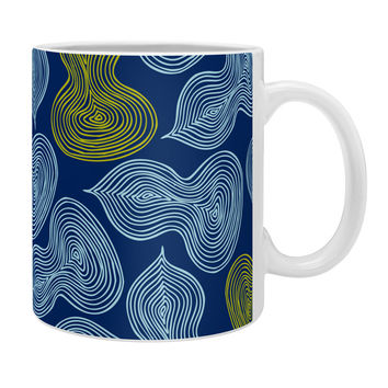 Heather Dutton Leaflet Marine Coffee Mug