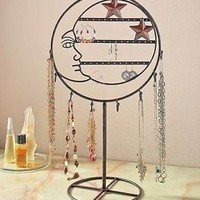 Celestial Moon Jewelry Stand / Holder For Necklaces Earrings Bracelets Organizer