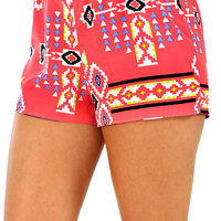 One Step Closer Shorts: Multi
