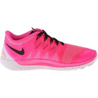 Nike Nike Free 5.0 '14 (Pink Pow/Polarized Pink/Black) Women's Running Shoes