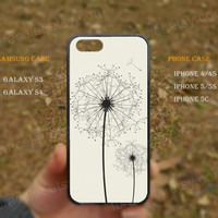 Dandelion,Tree Of Life,iPhone 5s case,iPhone 5C case,Samsung Galaxy S3,S4 Case,iPhone 5 Case,iPhone 4,4s case,water proof,Gifts