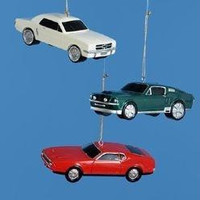 Christmas Ornament - Ford Mustang