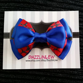 Marvels Spiderman Hair Bow