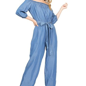 Daydream Chambray Jumpsuit